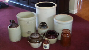 Crock / Stoneware collection