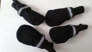 2 SETS OF SMALL DOG BOOTS (Beagle, etc)