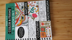 Adult/young adult colouring book
