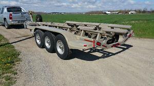 Tri axle boat trailer 13500lb capacity $5999
