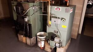 KERR Wood stove Boiler/Oil Boiler with Domestic Hotwater coils