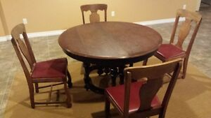 George Lippert Dining Table with 4 Chairs