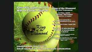 King of the Diamond Tournament June 18