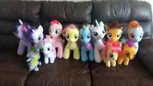MLP plushie $130 for the set