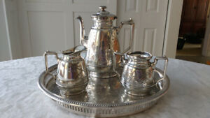 Silverplate Tea Set