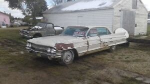1961 Cadillac 4 door for parts / project