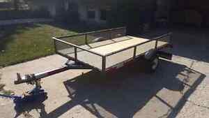 4 x 8 Tilt Deck utility trailer Regina Regina Area image 2