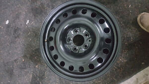 "ONE Single JEEP Steel rim 17"", 5 X 114.3 like new  $30"