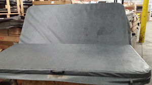 """5"""" tapered hot tub cover dlx, damaged demo model, dry!!"""