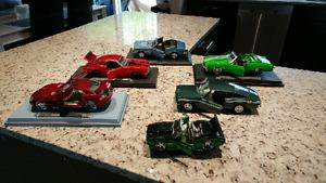 6 Die Cast Cars. Asking $100
