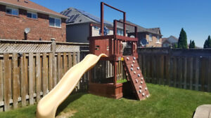 Playhouse Slide and Accessories