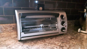 Black and Decker oven toaster