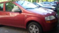 2005 Chevrolet Aveo LS Berline