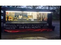 Staff wanted for catering trailer