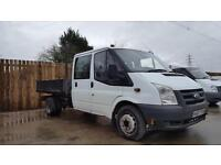 2007 Ford Transit Double Cab Tipper 2.4TDCi ( 100PS ) ( DRW ) 3750mm 350 LWB