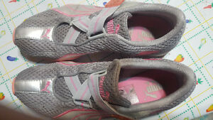 Puma ad nike shoes