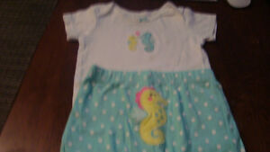 BABY GIRL CARTER OUTFIT $2.00 Kitchener / Waterloo Kitchener Area image 1