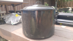 Canner for processing fruit or veggies from the garden