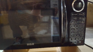 Microwave TV mount toaster oven