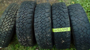 Four Like New 205 70 14 winter tires