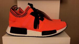 "Adidas nmd Size exclusive ""Orange Noise"""
