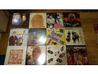 Vinyl records LPs 12' singles for sale.