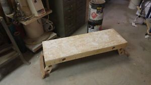 "FOLDING DRYWALL / PAINTERS BENCH 11.5"" HIGH 48"" LONG London Ontario image 1"