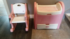 Fisher Price Rocker / Doll Change Table