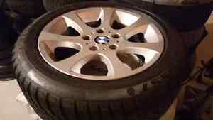"""BMW 16"""" winter wheels 5x120 205/55R16 Oakville / Halton Region Toronto (GTA) image 3"""