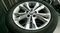 Factory Kia Wheels and tire package
