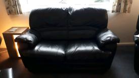 2 Seater + 1 Searer Leather Sofa