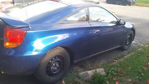 2001 Toyota Celica GT blue good condition  AS IS
