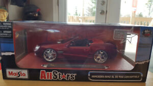 Collectable diecast cars