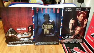 Laminate Movie Posters (24X36) Scarface, Casino, Blow, Sopranos,