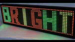 LED Message Board (Richmond/Surrey/Burnaby/Vancouver)