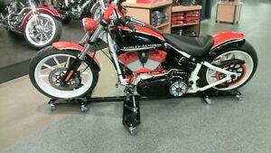 Motorack support de moto Multidirectionel pour garage ou cabanon