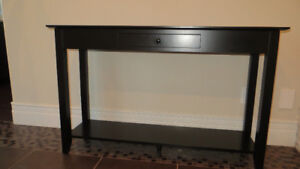 Dark Brown Entry - Sofa Table