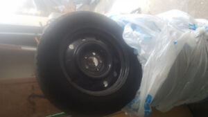 Used 4 winter tires with rim 215/65/R17