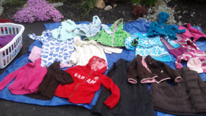 Yard sale lots of girls clothes toys and dresses size 6-10