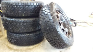 Winter tires and rims 195 65 r17 5x100