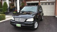 2001 Mercedes-Benz M-Class 320 SUV, Crossover