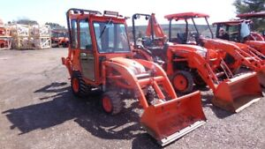 2012 Kubota BX25D TLB with Heated Cab
