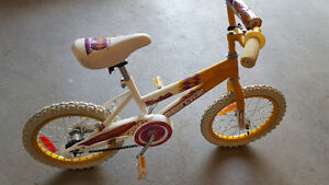 NEW PRICE   Girls 16 inch bike for sale
