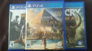 Assassins creed origins an farcry primal,in famous second son
