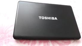 Toshiba 15 inch laptop i3 4GB windows 10 with office 19