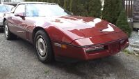 87 convertible corvette