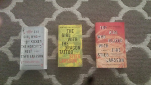 The girl with the dragon tattoo Millennium Trilogy