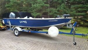 2003 Lund 1700 Outfitter 50hp 4 stroke Yamaha