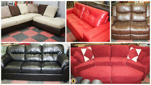 BRAND NEW Leather Furnishings