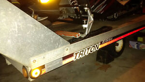 1998 Triton Elite snowmobile trailer only-requires repair